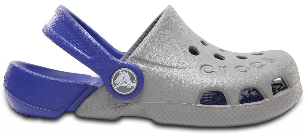 Crocs Clog Unisex Smoke / Cerulean Blue Electro