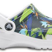 Crocs Clog Unisex Blancos Classic Tropical IV