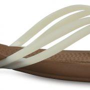 Crocs Flip Mujer Blancos / Bronze Crocs Isabella