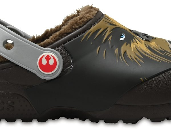 Crocs Clog para chicos Espresso Crocs Fun Lab Fuzz Lined Chewbacca