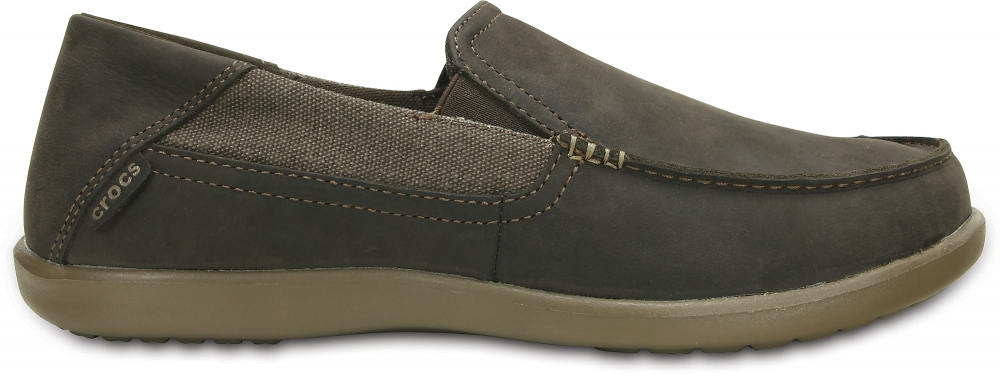 Crocs Loafer Hombre Espresso / Walnut Santa Cruz 2 Luxe Leather