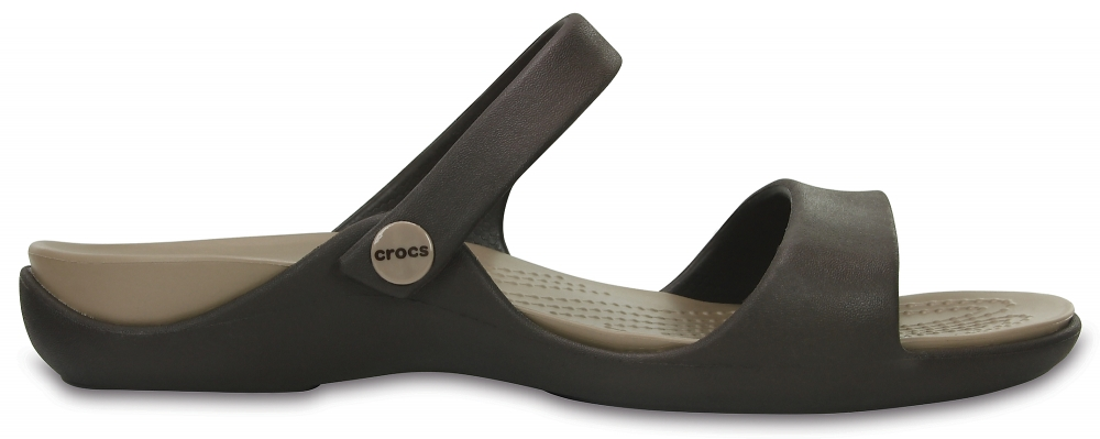 Crocs Sandal Mujer Espresso / Mushroom Cleo V s