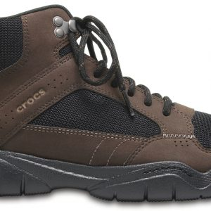 Crocs Boot Hombre Espresso / Negros Swiftwater Hiker Mid