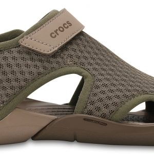 Crocs Sandal Mujer Walnut Swiftwater Mesh s