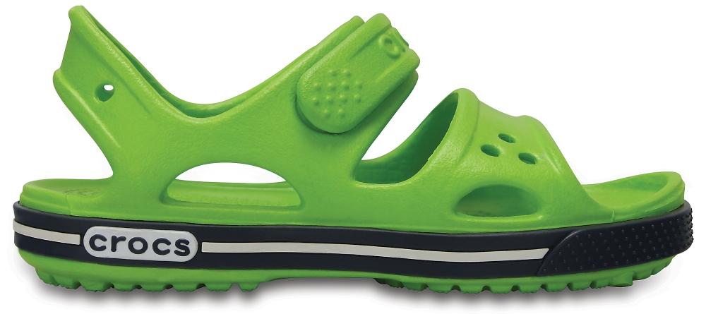 Crocs Sandal Unisex Volt Verdes / Azul Navy Crocband II
