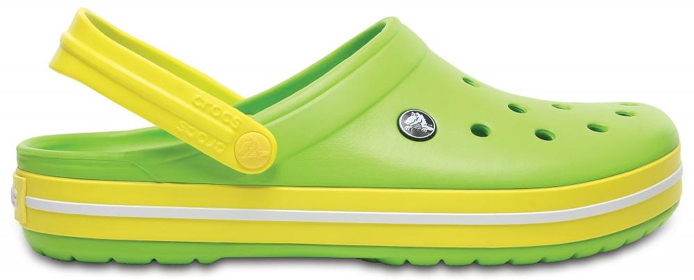 Crocs Clog Unisex Volt Verdes / Limon Crocband