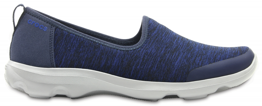 Crocs Shoe Mujer Azul Navy Busy Day Heather Skimmer