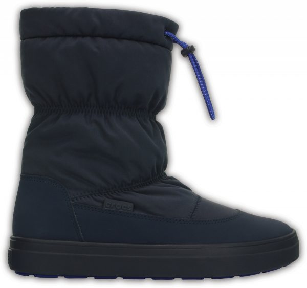 Crocs Boot Mujer Azul Navy LodgePoint Pull-on