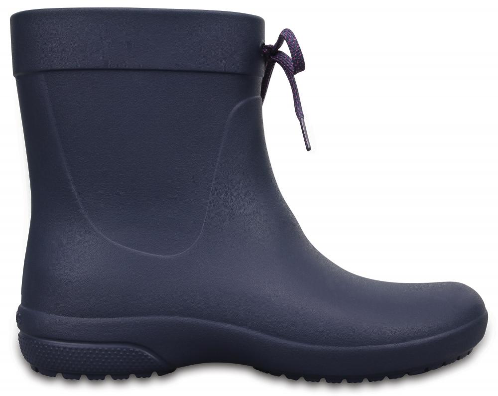 Crocs Boot Mujer Azul Navy Crocs Freesail Shorty Rain s