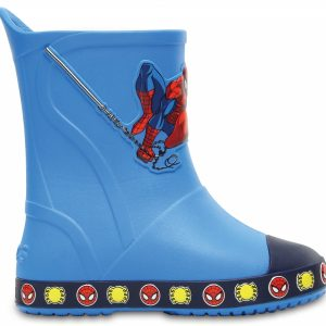 Crocs Boot para chicos Ocean Crocs Bump It Spiderman Rain