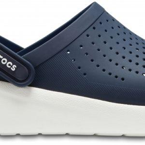 Crocs Clog Unisex Azul Navy / Blancos LiteRide s