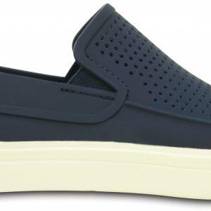 Crocs Shoe Hombre Azul Navy / Blancos CitiLane Roka Slip-ons