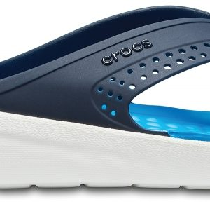 Crocs Flip Unisex Azul Navy / Blancos LiteRide s