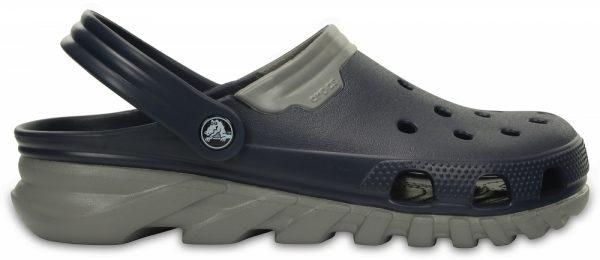 Crocs Clog Unisex Azul Navy / Smoke Duet Max