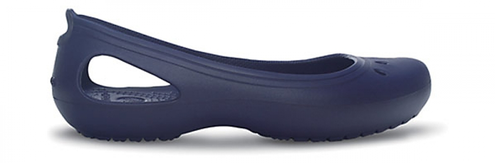 Crocs Flat Mujer Nautical Azul Navy / Nautical Azul Navy Kadee