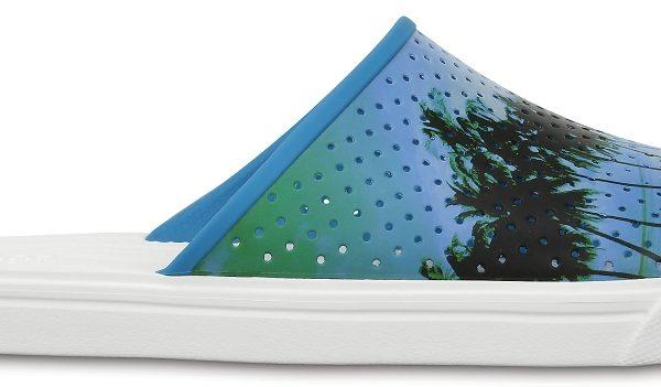 Crocs Slide Unisex Electric Blue / Blancos CitiLane Roka Tropical Graphic s