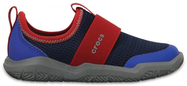 Crocs Shoe Unisex Azul Navy / Pepper Swiftwater Easy-On zapatos