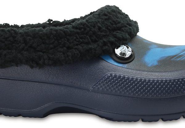 Crocs Clog Unisex Blue Jean Classic Blitzen III Graphic
