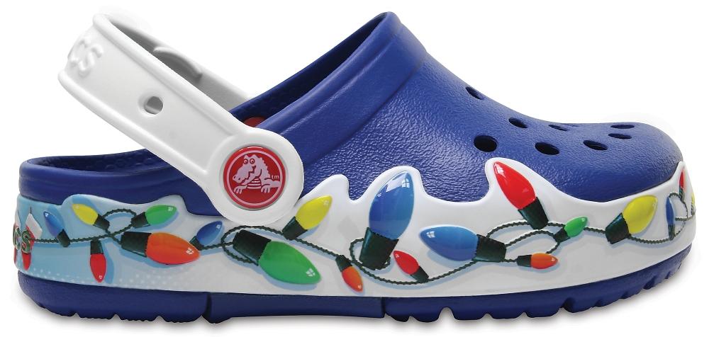 Crocs Clog Unisex Blue Jean CrocsLights Holiday