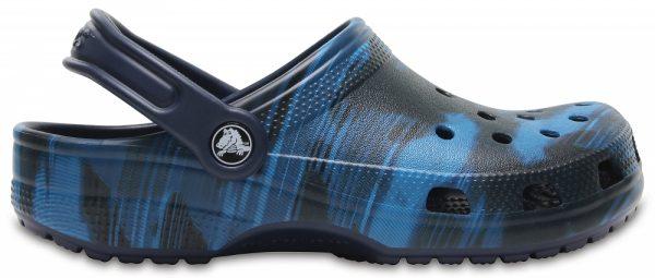 Crocs Clog Unisex Blue Jean Classic Graphic