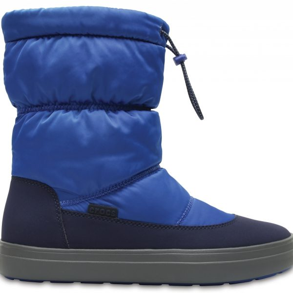 Crocs Boot Mujer Blue Jean/Azul Navy LodgePoint Shiny Pull-on