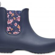 Crocs Boot Mujer Azul Navy/Floral Crocs Freesail Chelsea