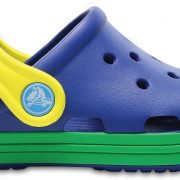 Crocs Clog Unisex Blue Jean/Grass Verdes Crocs Bump It