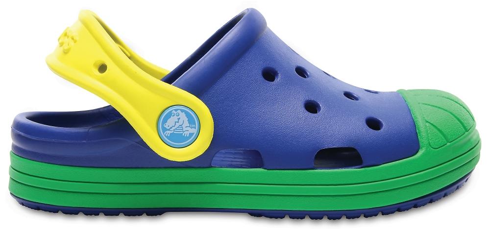 Crocs Clog Unisex Blue Jean/Grass Verdes Crocs Bump It