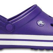 Crocs Clog Unisex Ultraviolet / Blancos Crocband