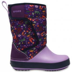 Crocs Boot Unisex Ultraviolet / Iris LodgePoint Graphic Snow