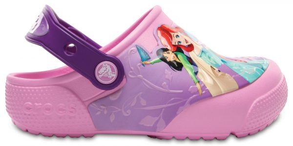 Crocs Clog para chica Amethyst Crocs Fun Lab Lights Princess