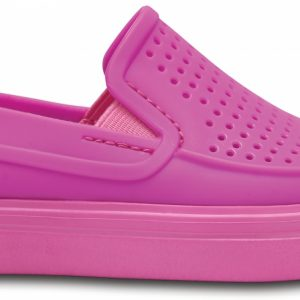 Crocs Shoe Unisex Vibrant Violet CitiLane Roka Slip-On