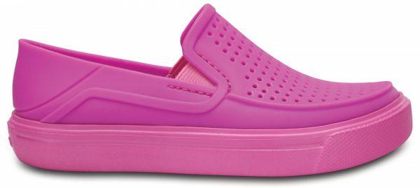 Crocs Shoe Unisex Vibrant Violet CitiLane Roka Slip-On