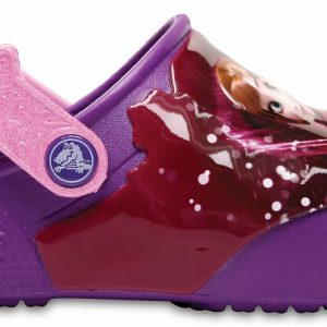Crocs Clog para chica Berry Crocs Fun Lab Lights Frozen