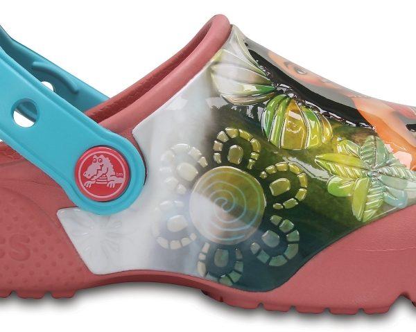Crocs Clog para chica Blossom Crocs Fun Lab Disney Vaiana s