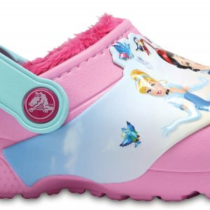 Crocs Clog para chica Carnation Crocs Fun Lab Fuzz Lined Princess
