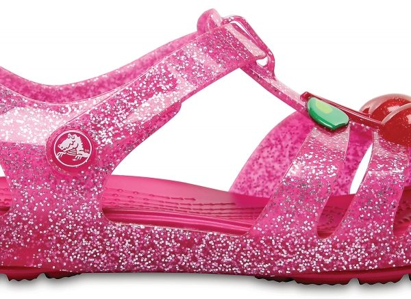 Crocs Sandal para chica Vibrant Rosa Crocs Isabella Novelty s