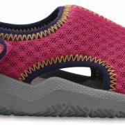 Crocs Sandal Unisex Neon Rosa / Smoke Swiftwater s