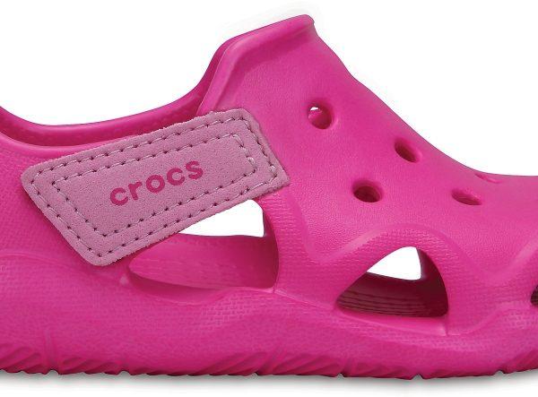Crocs Shoe Unisex Neon Magenta Swiftwater Wave