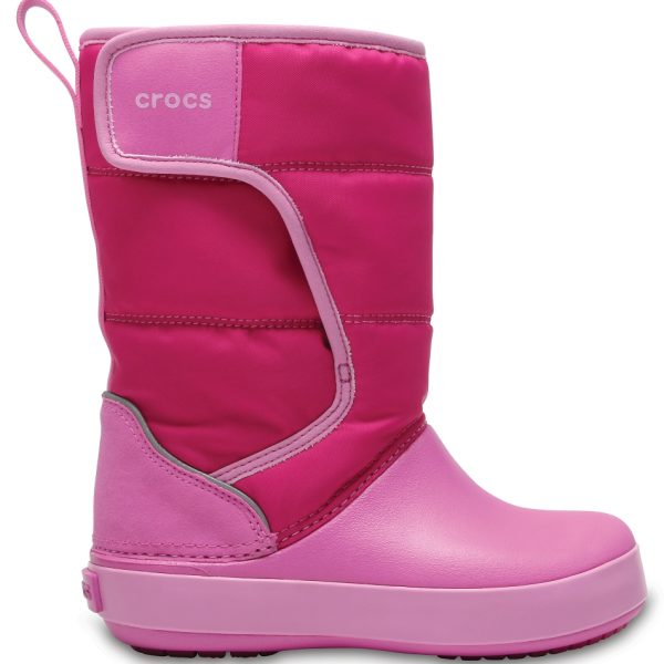 Crocs Boot Unisex Candy Rosa / Party Rosa LodgePoint Snow
