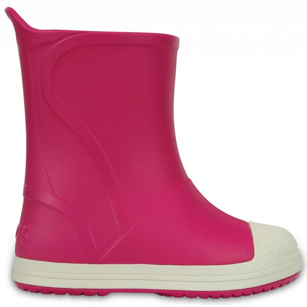 Crocs Boot Unisex Candy Rosa / Oyster Crocs Bump It Rain