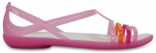 Crocs Sandal Mujer Carnation / Blancos Crocs Isabella