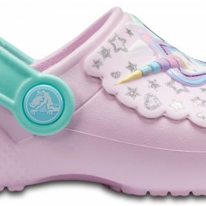 Crocs Clog Unisex Ballerina Rosa/New Mint Crocs Fun Lab s