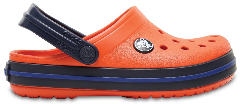 Crocs Clog Unisex Tangerine/Azul Navy Crocband