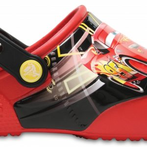 Crocs Clog Unisex Flame Crocs Fun Lab Lights Cars 3