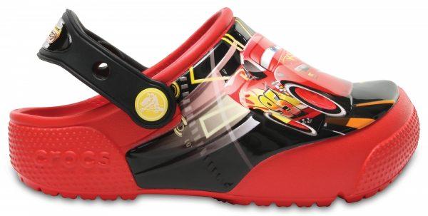 Crocs Clog Unisex Flame Crocs Fun Lab Lights Cars 3