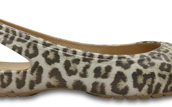 Crocs Flat Mujer Leopard Kadee Graphic