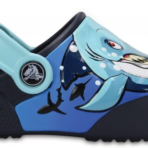 Crocs Clog Unisex Shark / Azul Navy Crocs Fun Lab Lights s