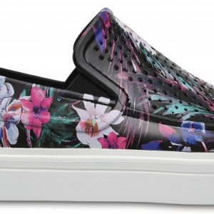 Crocs Shoe Mujer Tropical CitiLane Roka Graphic Slip-Ons