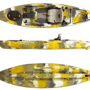 Kayak LURE 11 5 Pesca con timon